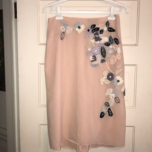 BCBG Max Azria Collection Silk Skirt